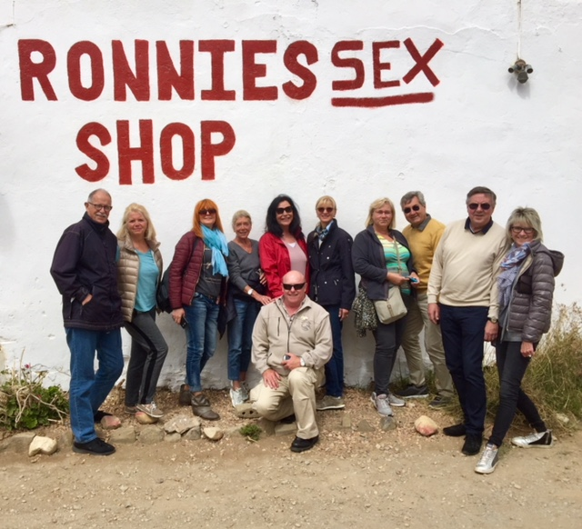 Ronnies Sex Shop group