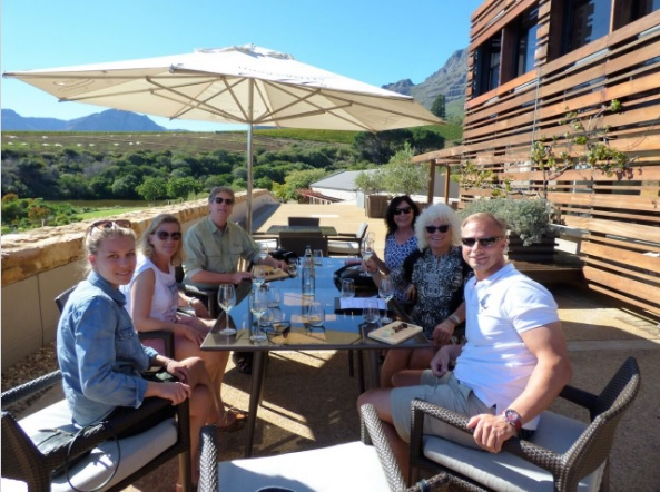 april siebzehn Stellenbosch winetasting